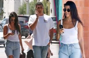 Younes and Kourtney Kardashian
