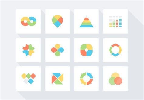 Phlet Template Free Infographic Vector Icon Set 103360 Welovesolo