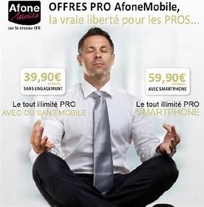 Forfait Telephone Pro : afone mobile lance une gamme pro sans engagement comparatif et test adsl et fibre ~ Medecine-chirurgie-esthetiques.com Avis de Voitures