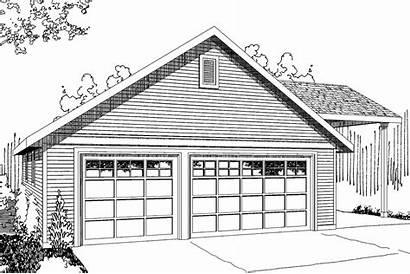 Garage Rv Plan Plans Port 051g Parking