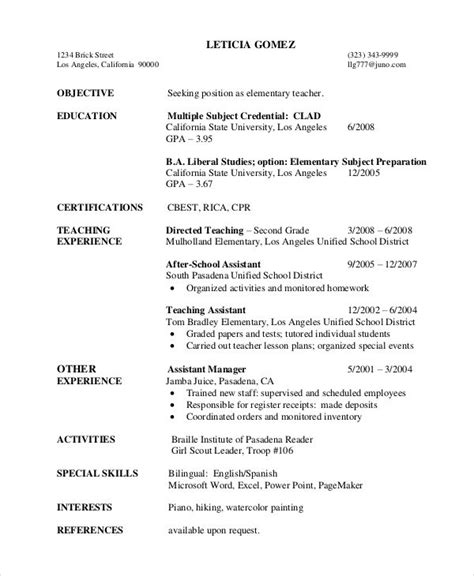 year resume template best resume collection