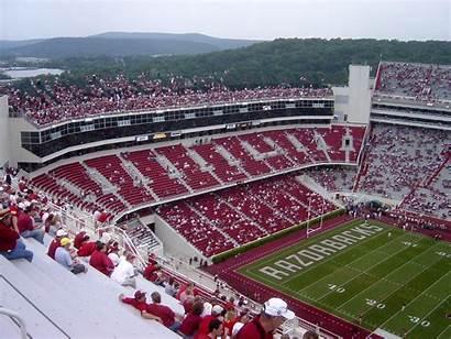Arkansas Fayetteville University Stadium Razorback Reynolds Donald