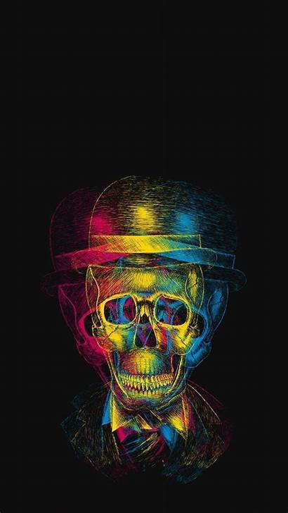 Android Cool Wallpapers Magic Skull Smartphone Deep