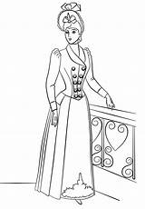 Coloring Pages Victorian Printable Era Print Drawing History Queen Figure Categories sketch template