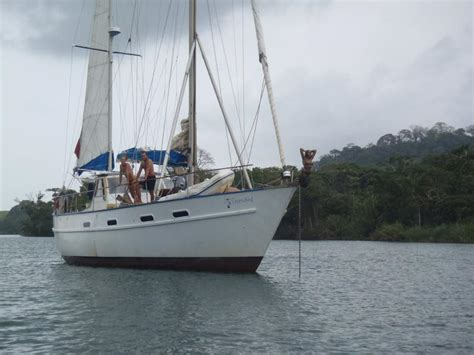 Catamaran Meaning In Malay by Get Wooden Liveaboard Sailboat Marvella