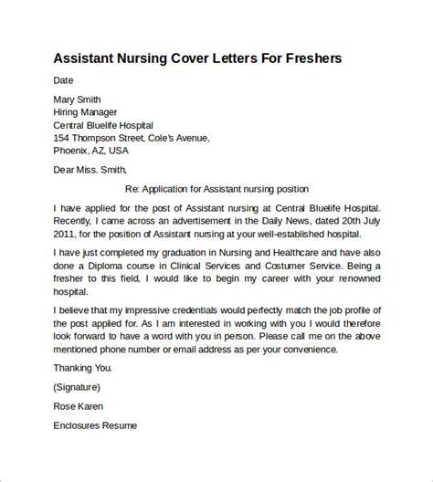 sample nursing cover letter examples