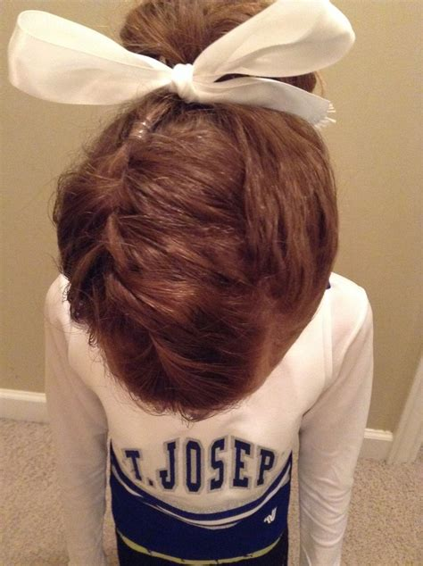 17 best images about cheer hair styles on pinterest