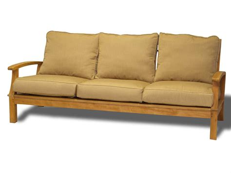 birds casual monterey teak deep seating seat sofa