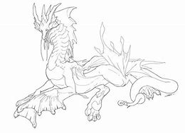 HD Wallpapers Realistic Water Dragon Coloring Pages