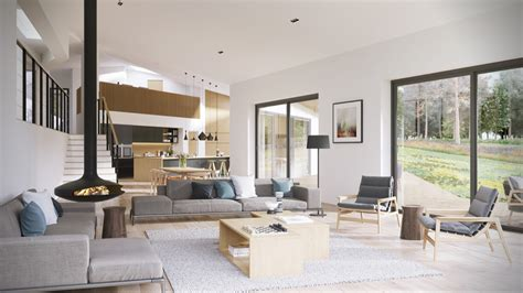 Small Open Plan Home Interiors by Sleek Open Plan Interior Design Inspiration For Your Home