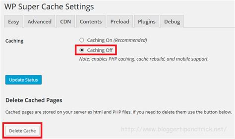 How To Uninstall Wp Super Cache Plugin