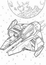 Coloring Wars Spaceship Star Pages Spaceships Ships Drawing Ship Alien War Print Space Colouring Printable Drawings Sheets Kleurplaten Disney Groep sketch template