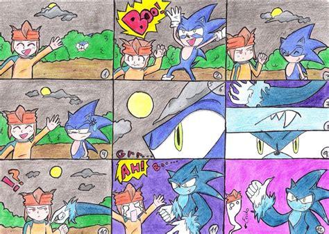Sonic Werehog Transformation Comic