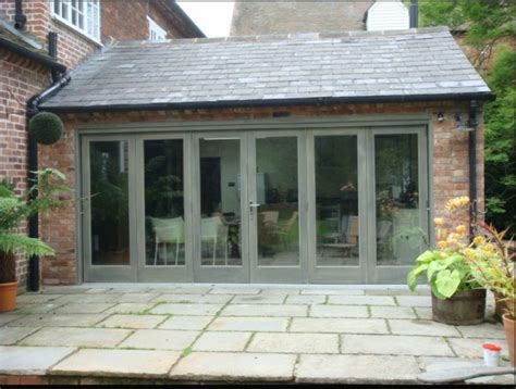 Walled Home With Wow Factor by Fantastic Bi Fold Door Installed It Certainly Gives The