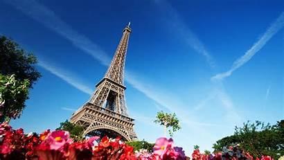 Paris Eiffel Tower France Flowers Architecture Building
