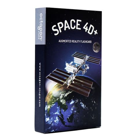 Space 4d+ Augmented Reality Flashcards  Toys And Games Irelandtoys And Games Ireland
