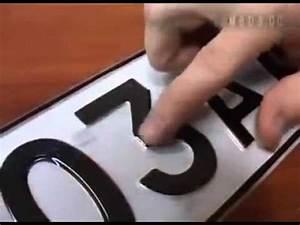 Astuce Anti Radar : autocollant plaque d 39 immatriculation anti radars lettres et chiffres info ou intox sticker ~ Medecine-chirurgie-esthetiques.com Avis de Voitures