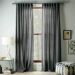 Les rideaux occultants les plus belles variantes en photos for Charming couleur rideau avec mur gris 3 rideaux chambre fille qui font la difference archzine fr