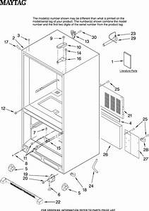 Maytag Refrigerator Mbf1956kew11 User Guide