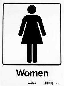 female restroom sign clipartsco With women only bathroom sign