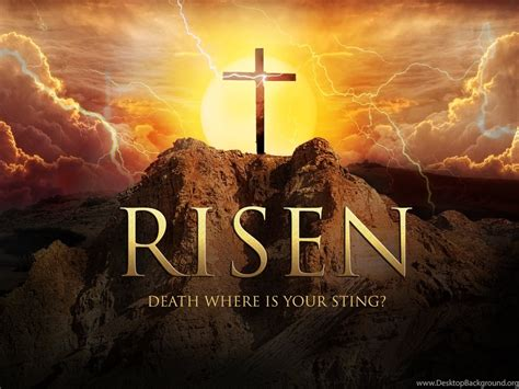 happy easter jesus resurrection risen hd wallpapers