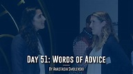 MSBA 2018 Day 51 - Words of Advice
