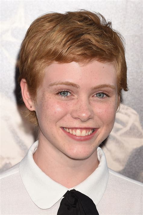 sophia lillis straight ginger pixie cut hairstyle steal