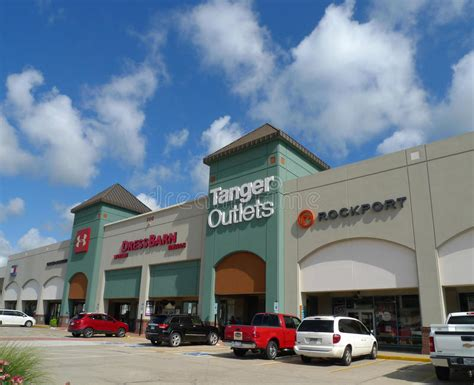 Tanger Outlets Mall In Branson, Missouri Editorial Stock