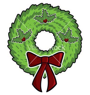 christmas wreaths cartoon picture  wallpaper