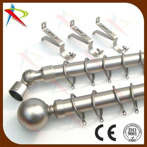 metal bay window curtain pole rod corner joint