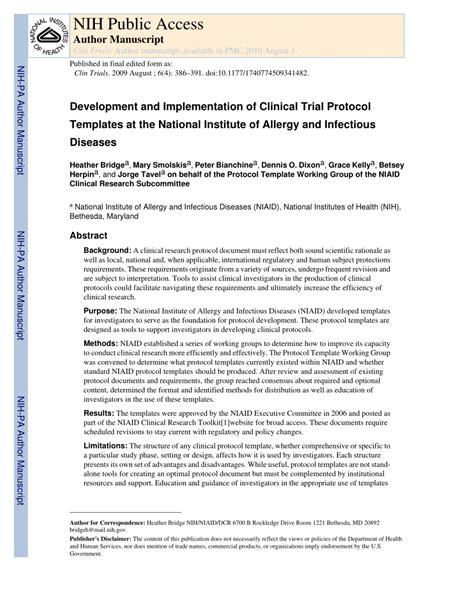 protocol template research protocol template choice image template design ideas