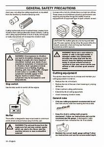 Husqvarna 365 372xp Chainsaw Owners Manual  2001 2002 2003