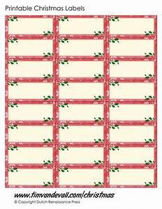 Printable christmas labels free christmas label templates for Christmas label templates