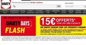 Promo Castorama 15 Par Tranche De 100 : darty 15 euros de bon d 39 achat par tranche de 100 ~ Dailycaller-alerts.com Idées de Décoration