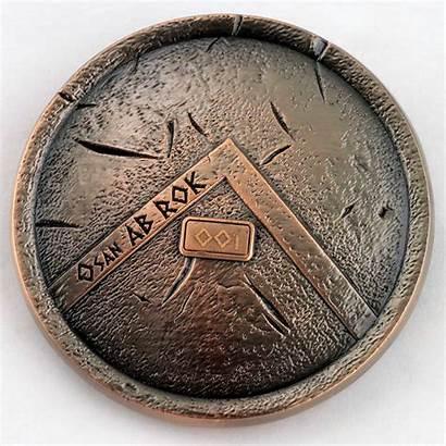 Challenge 3d Coins Coin Military Custom Spartan