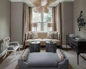 deco salon gris et taupe pour un interieur raffine With deco salon marron et gris