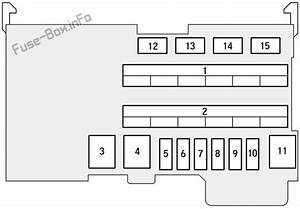 Fuse Box Diagram Honda Fit  Gk  2015