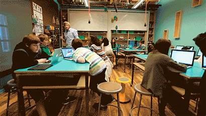 Classroom Education Hard Future Maker Student Space