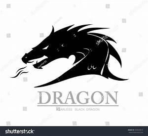 Dragon, Black Dragon. Dragon Head. Dragon Head Silhouette ...