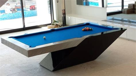 pool table design plans modern pool table by mitchell exclusive billiard designs