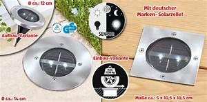 Pro Idee Solarleuchten : gardenline solar bodenleuchte von aldi s d ansehen ~ Michelbontemps.com Haus und Dekorationen