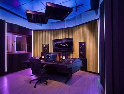 Studio Recording Lighting Sound Aurora System Mapping