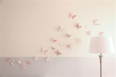 chambre 3d des stickers papillon en 3d pour une chambre de bébé du