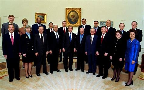 Bush Administration Cabinet simple open letters monthly an arts and literature