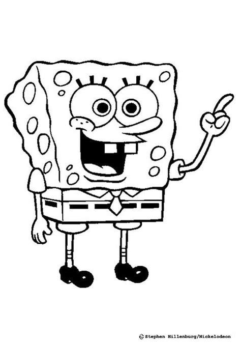 sponge bob coloring pages hellokidscom