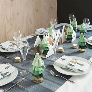 Nappe Papier Noel : la nappe de no l imitation bois marie claire ~ Melissatoandfro.com Idées de Décoration