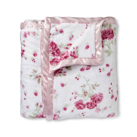 shabby chic soft blanket super soft and plush simply shabby chic blanket homes furniture ideas