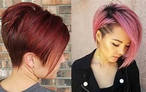Coloration Cheveux Court : essayez ces bennes couleurs sur vos cheveux courts coiffure simple et facile ~ Melissatoandfro.com Idées de Décoration