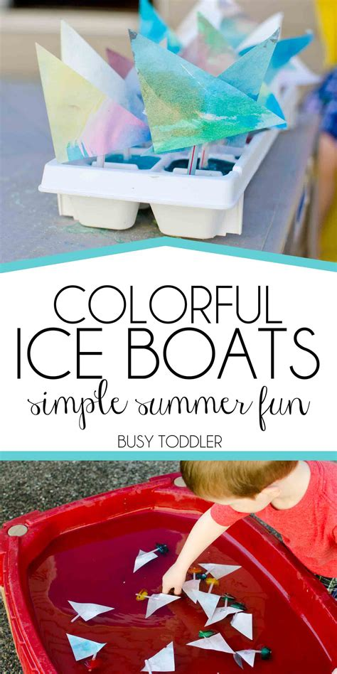 colorful boats busy toddler 436 | iceboatspin