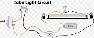 Wiring Diagram Fluorescent Lamp Circuit Diagram Choke